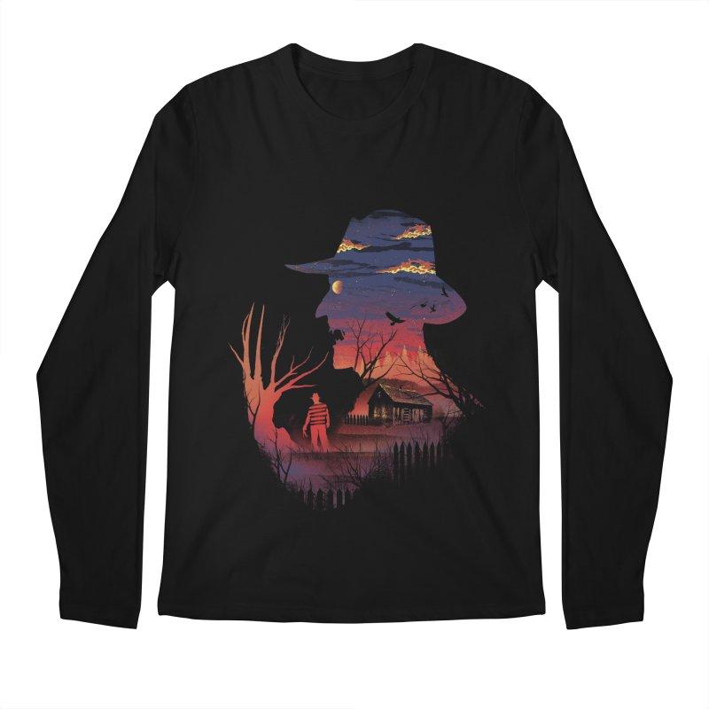 Nightmare on the Street Men's Longsleeve T-Shirt by dandingeroz's Artist Shop