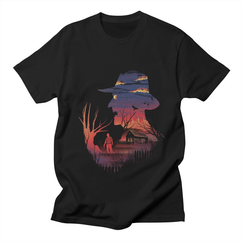 Nightmare on the Street Women's Unisex T-Shirt by dandingeroz's Artist Shop