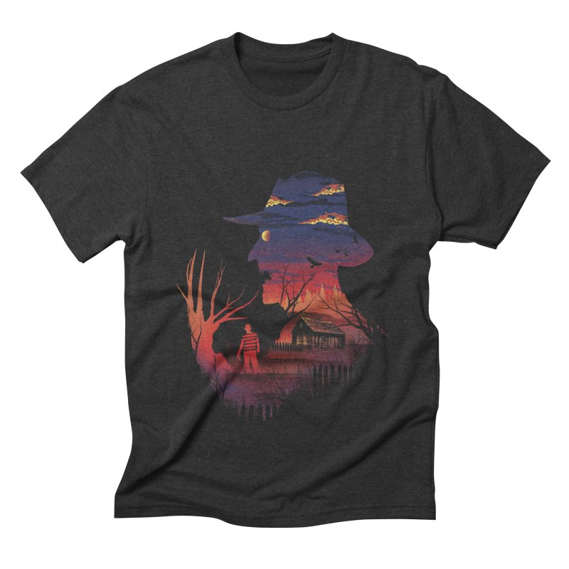 Nightmare on the Street Men's Triblend T-Shirt by dandingeroz's Artist Shop