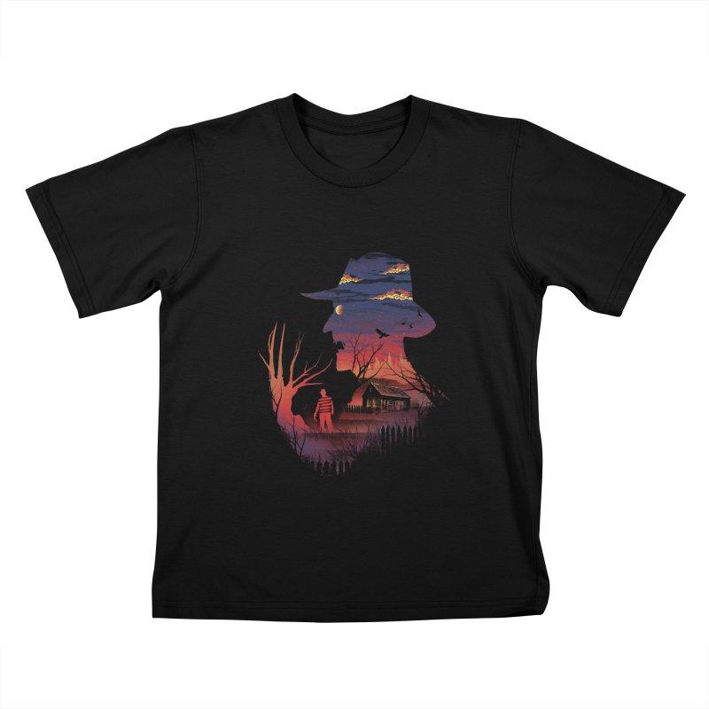 Nightmare on the Street Kids T-shirt by dandingeroz's Artist Shop