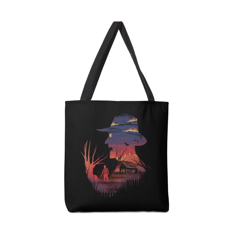 Nightmare on the Street Accessories Bag by dandingeroz's Artist Shop