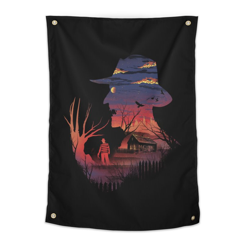 Nightmare on the Street Home Tapestry by dandingeroz's Artist Shop