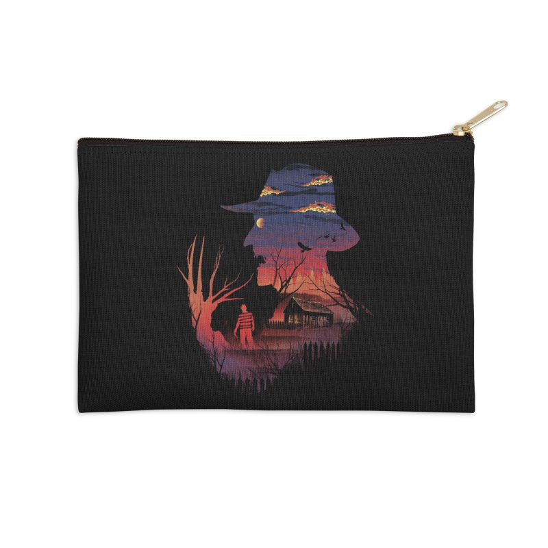 Nightmare on the Street Accessories Zip Pouch by dandingeroz's Artist Shop