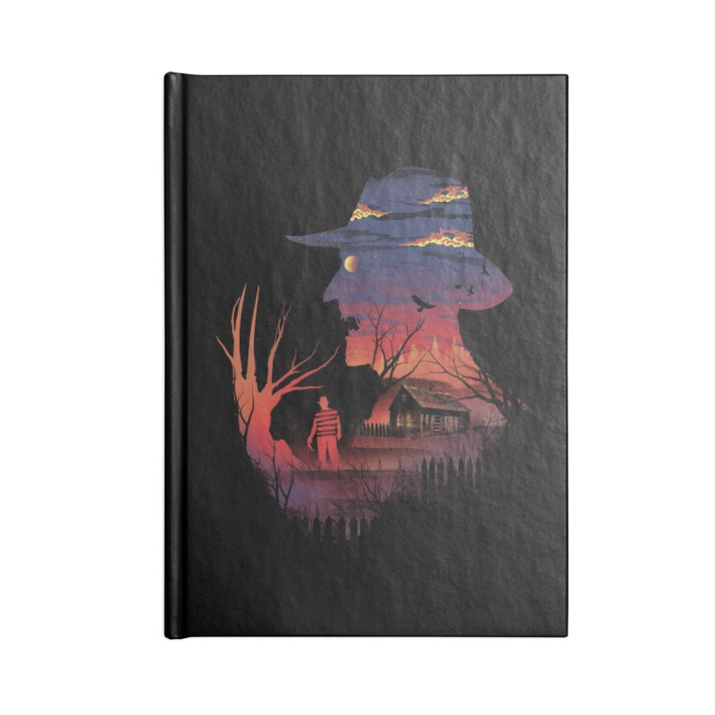 Nightmare on the Street Accessories Notebook by dandingeroz's Artist Shop