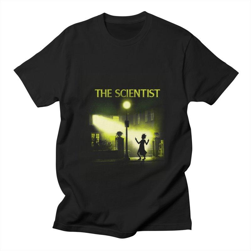 The Scientist Men's T-Shirt by dandingeroz's Artist Shop