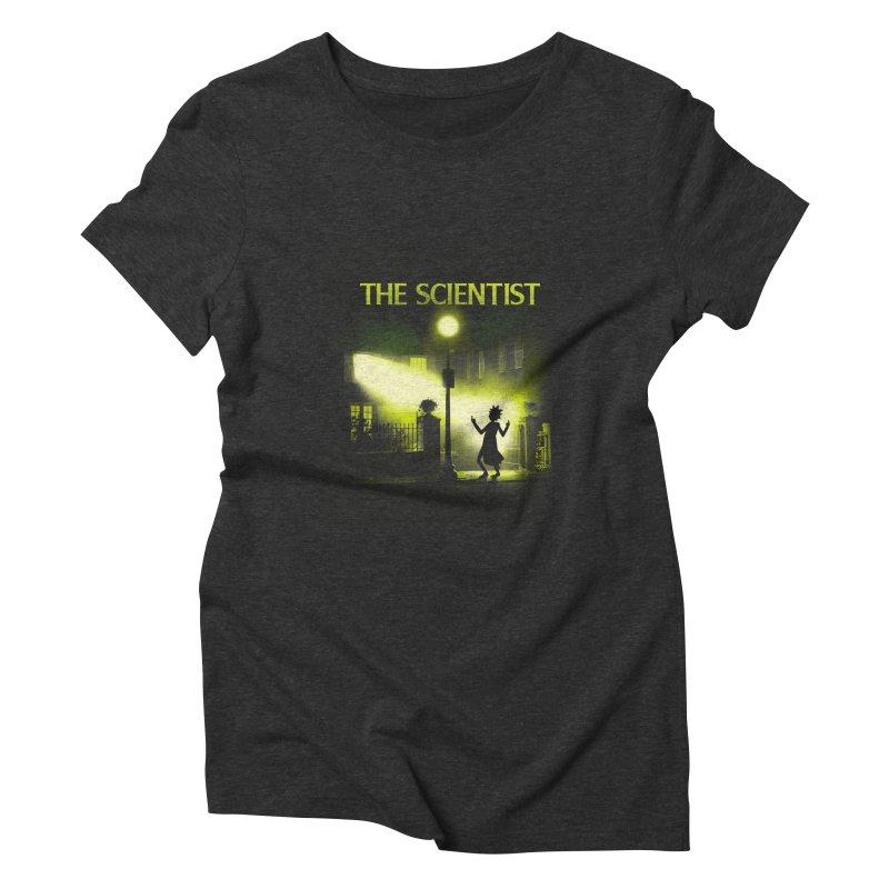 The Scientist Women's Triblend T-Shirt by dandingeroz's Artist Shop