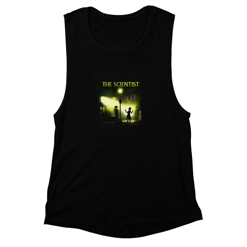 The Scientist Women's Muscle Tank by dandingeroz's Artist Shop