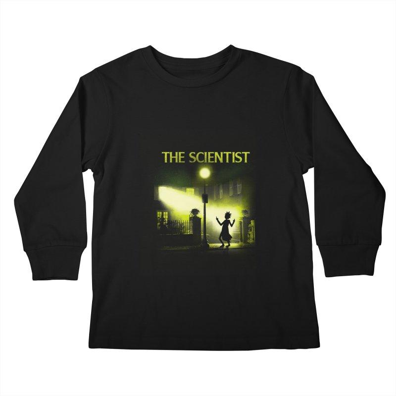 The Scientist Kids Longsleeve T-Shirt by dandingeroz's Artist Shop