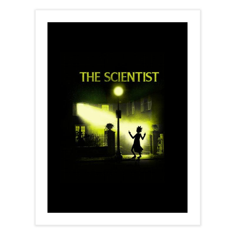 The Scientist Home Fine Art Print by dandingeroz's Artist Shop