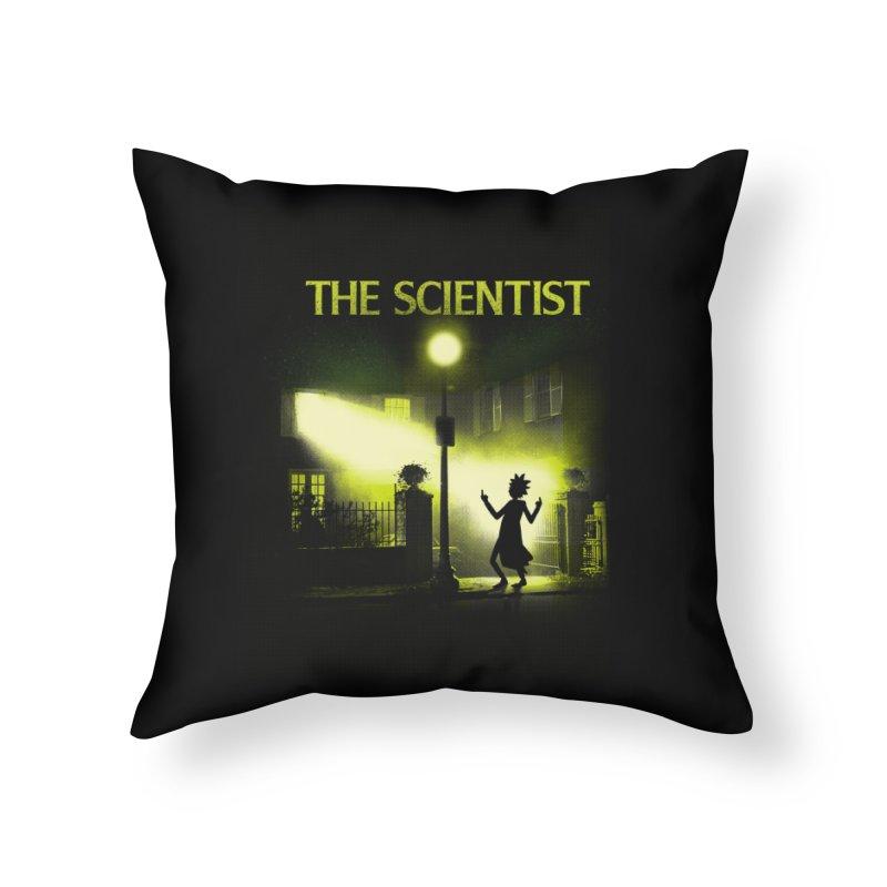 The Scientist Home Throw Pillow by dandingeroz's Artist Shop