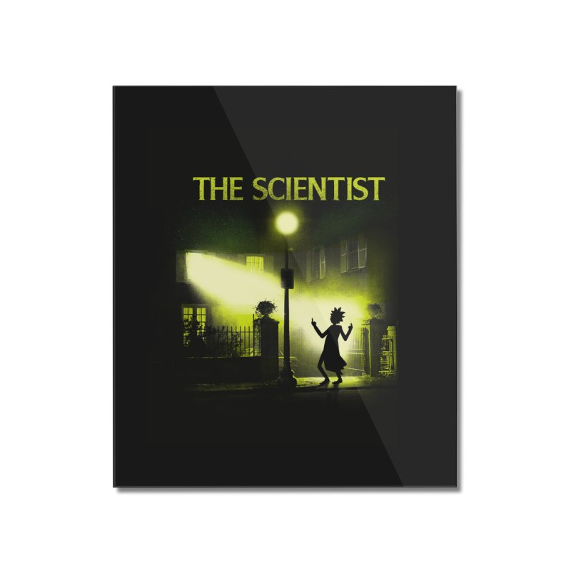 The Scientist Home Mounted Acrylic Print by dandingeroz's Artist Shop