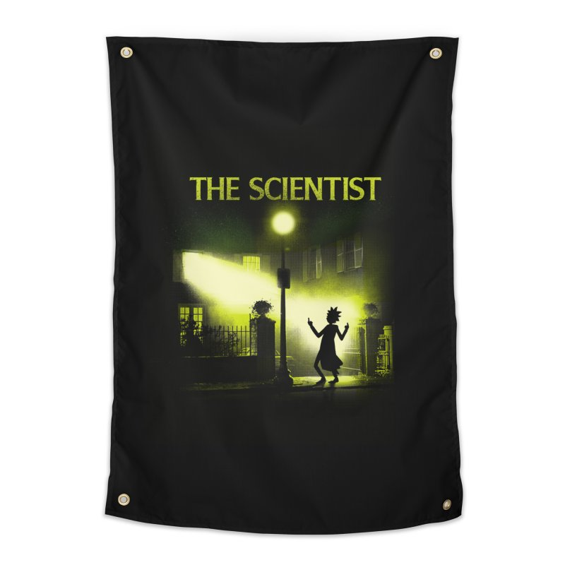 The Scientist Home Tapestry by dandingeroz's Artist Shop