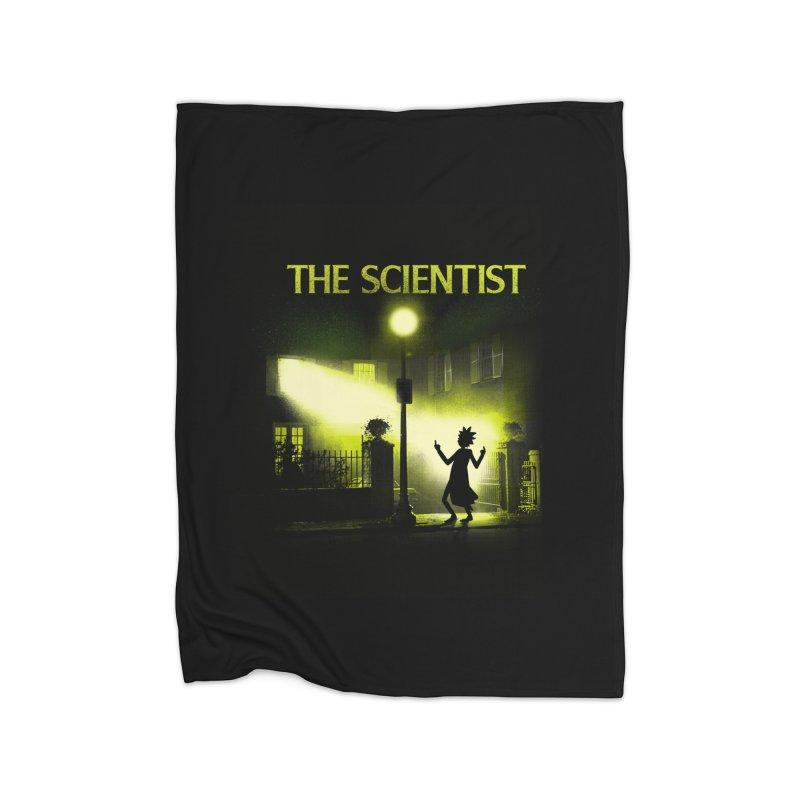 The Scientist Home Blanket by dandingeroz's Artist Shop