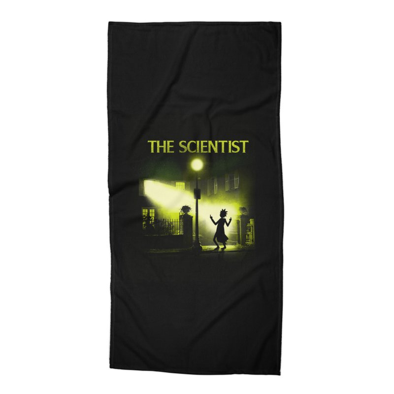 The Scientist Accessories Beach Towel by dandingeroz's Artist Shop