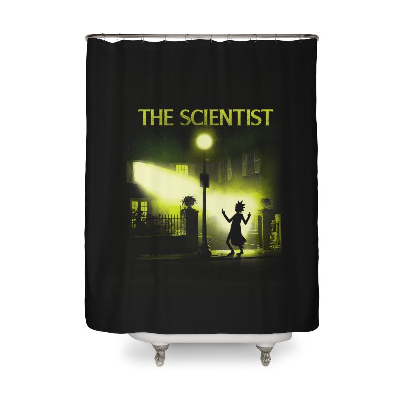 The Scientist Home Shower Curtain by dandingeroz's Artist Shop