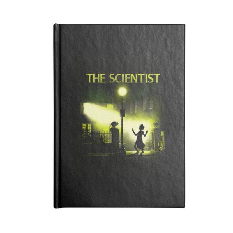 The Scientist Accessories Notebook by dandingeroz's Artist Shop