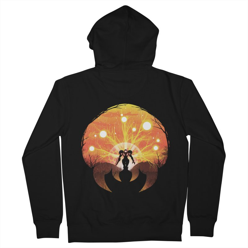 Super Metroid Men's Zip-Up Hoody by dandingeroz's Artist Shop