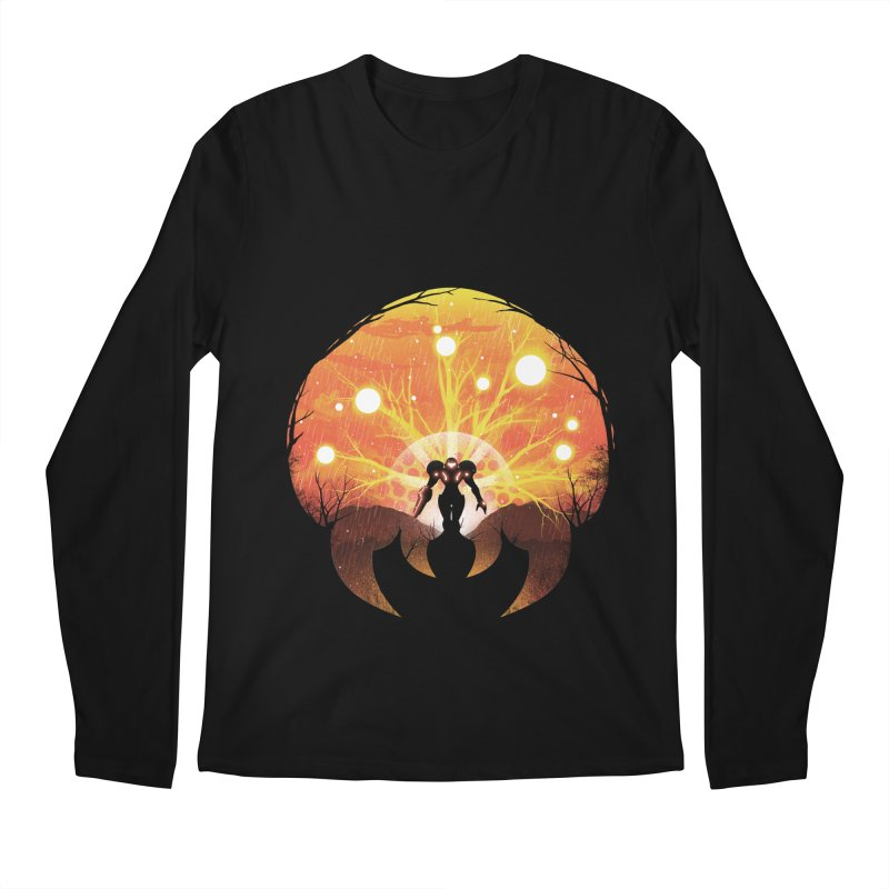 Super Metroid Men's Longsleeve T-Shirt by dandingeroz's Artist Shop