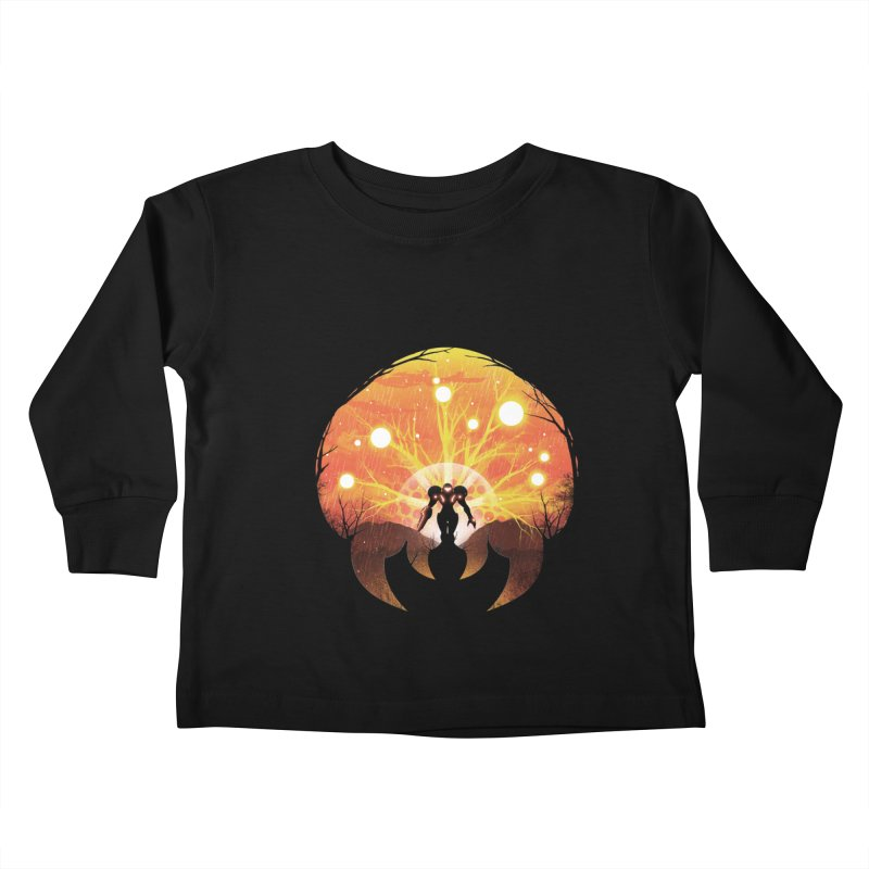 Super Metroid Kids Toddler Longsleeve T-Shirt by dandingeroz's Artist Shop