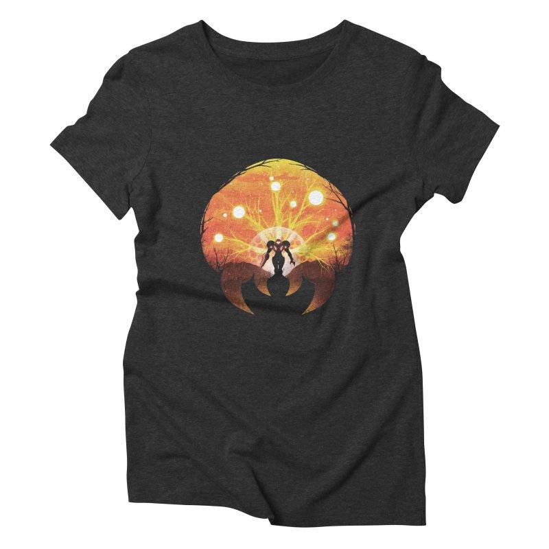 Super Metroid Women's Triblend T-Shirt by dandingeroz's Artist Shop