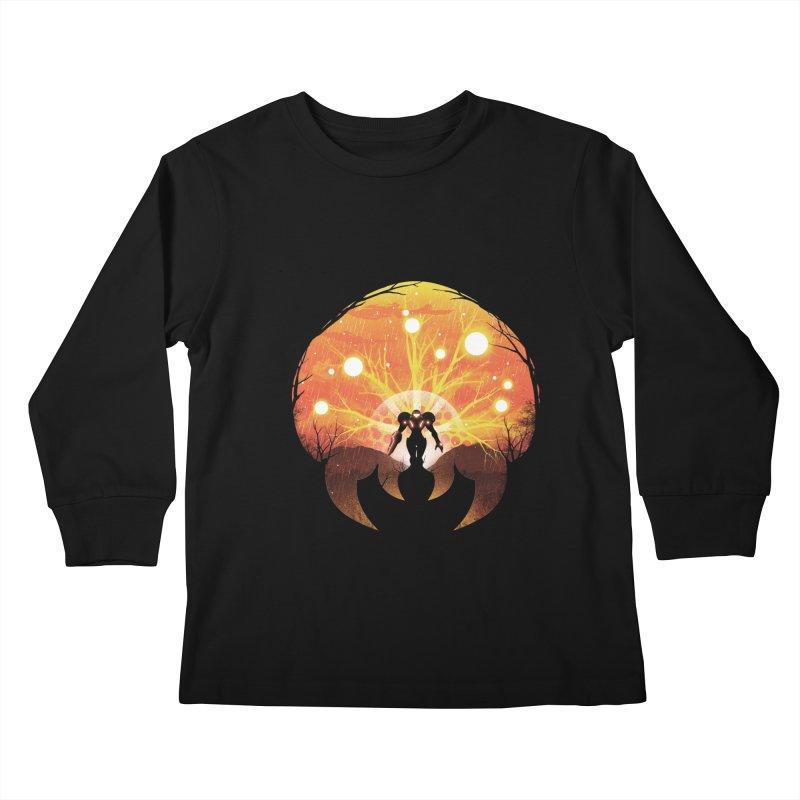 Super Metroid Kids Longsleeve T-Shirt by dandingeroz's Artist Shop