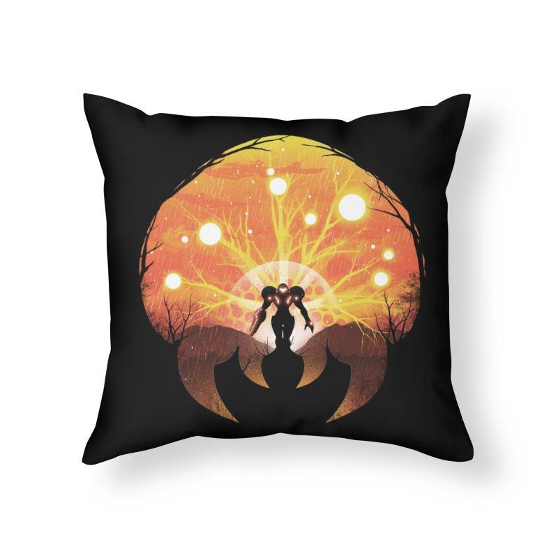 Super Metroid Home Throw Pillow by dandingeroz's Artist Shop