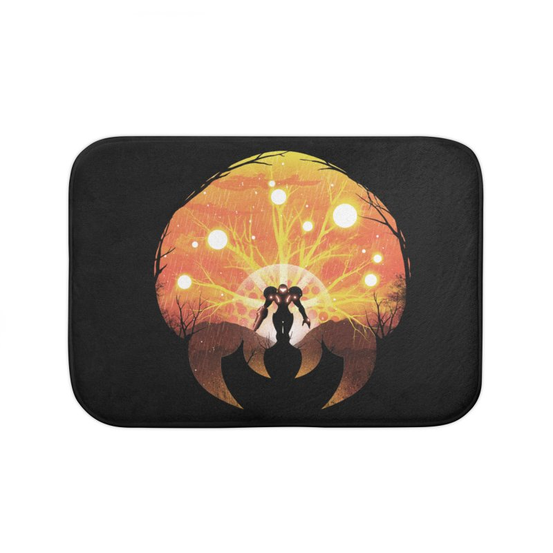 Super Metroid Home Bath Mat by dandingeroz's Artist Shop