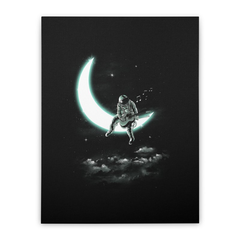 Moon Song in Stretched Canvas by dandingeroz's Artist Shop
