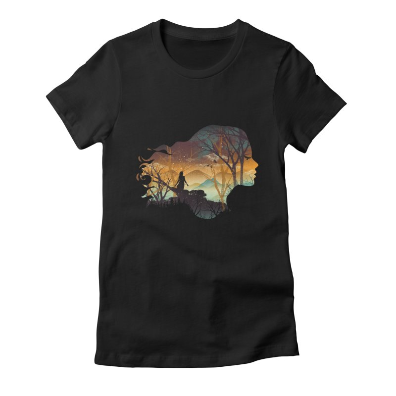 Human Nature Women's Fitted T-Shirt by dandingeroz's Artist Shop