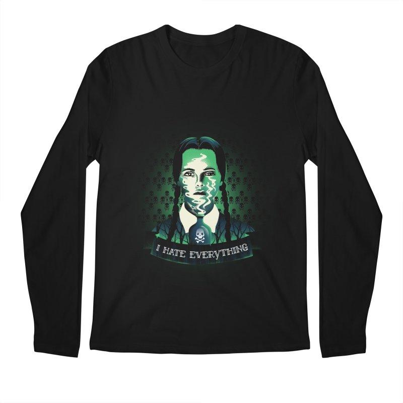 I hate everything Men's Longsleeve T-Shirt by dandingeroz's Artist Shop