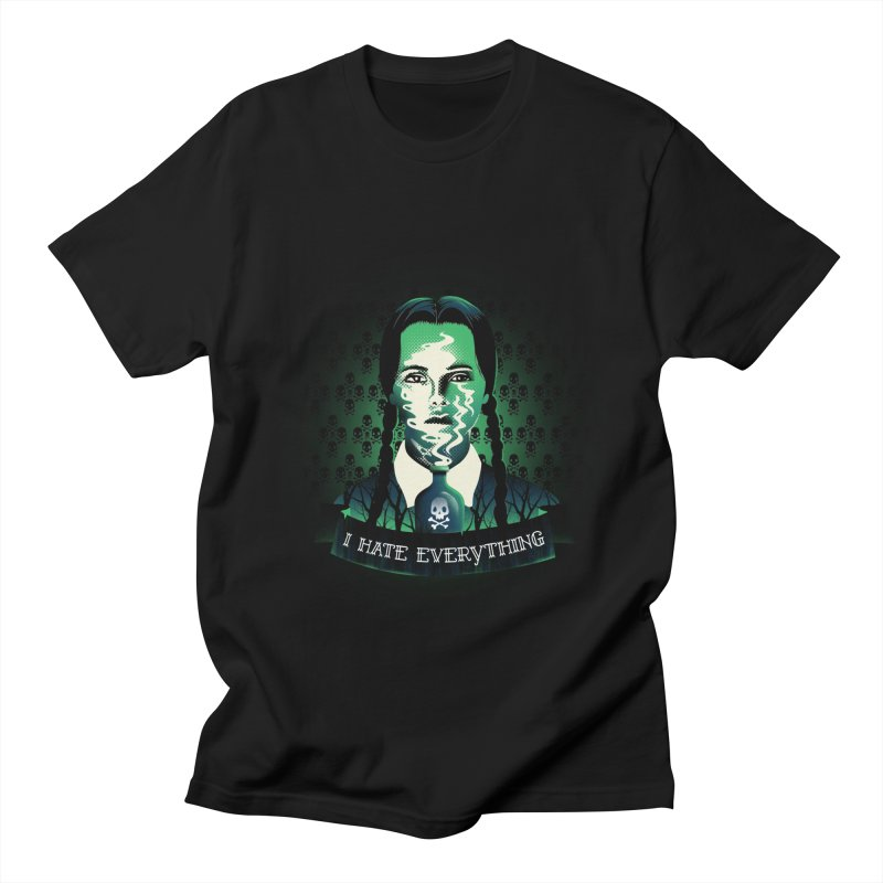 I hate everything Women's Unisex T-Shirt by dandingeroz's Artist Shop