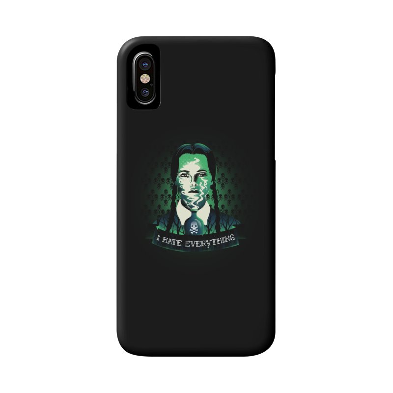 I hate everything Accessories Phone Case by dandingeroz's Artist Shop