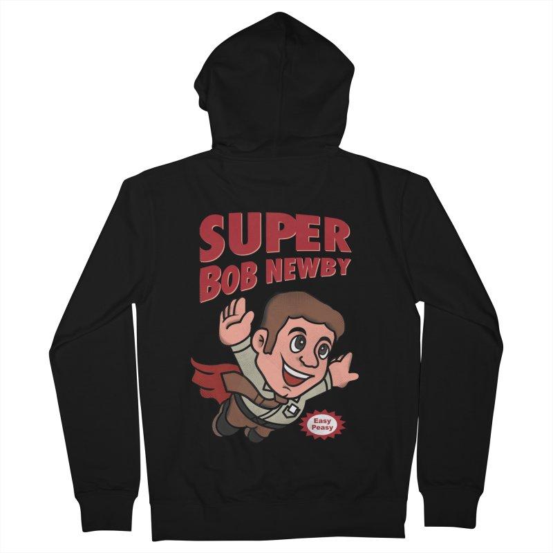 Super Bob Women's Zip-Up Hoody by dandingeroz's Artist Shop