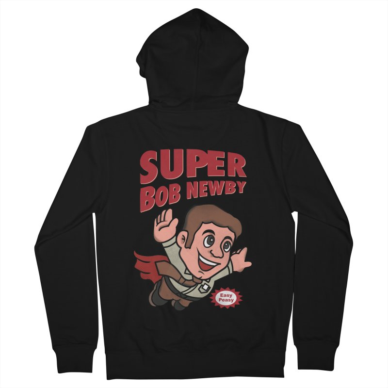Super Bob Men's Zip-Up Hoody by dandingeroz's Artist Shop