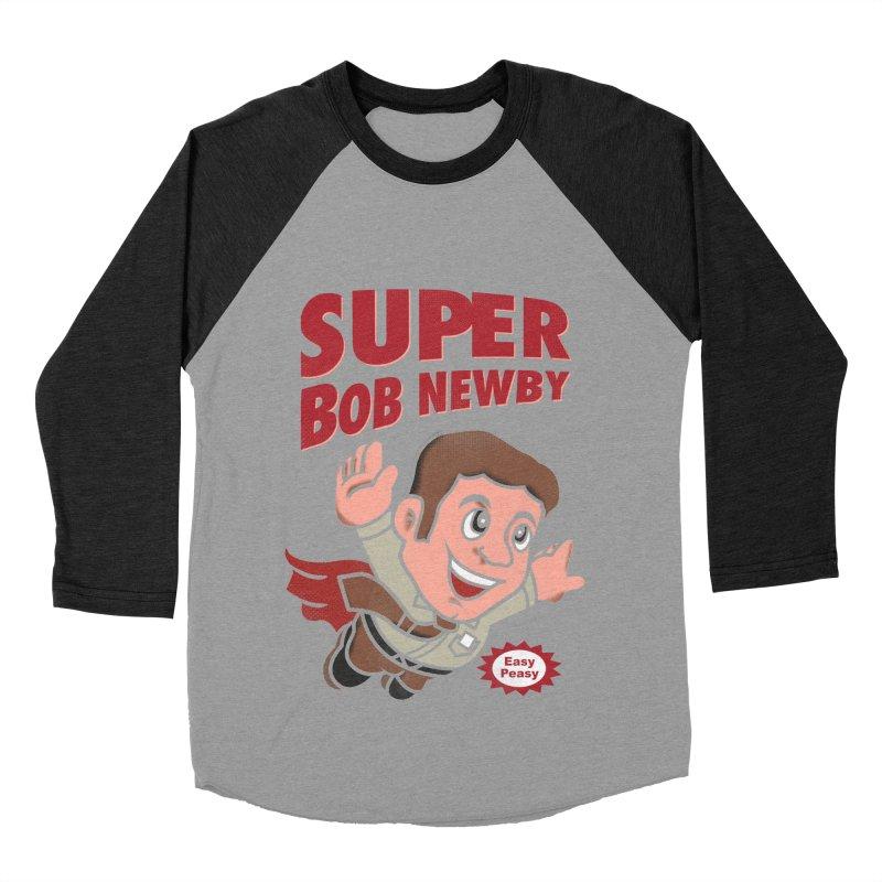 Super Bob Men's Baseball Triblend Longsleeve T-Shirt by dandingeroz's Artist Shop