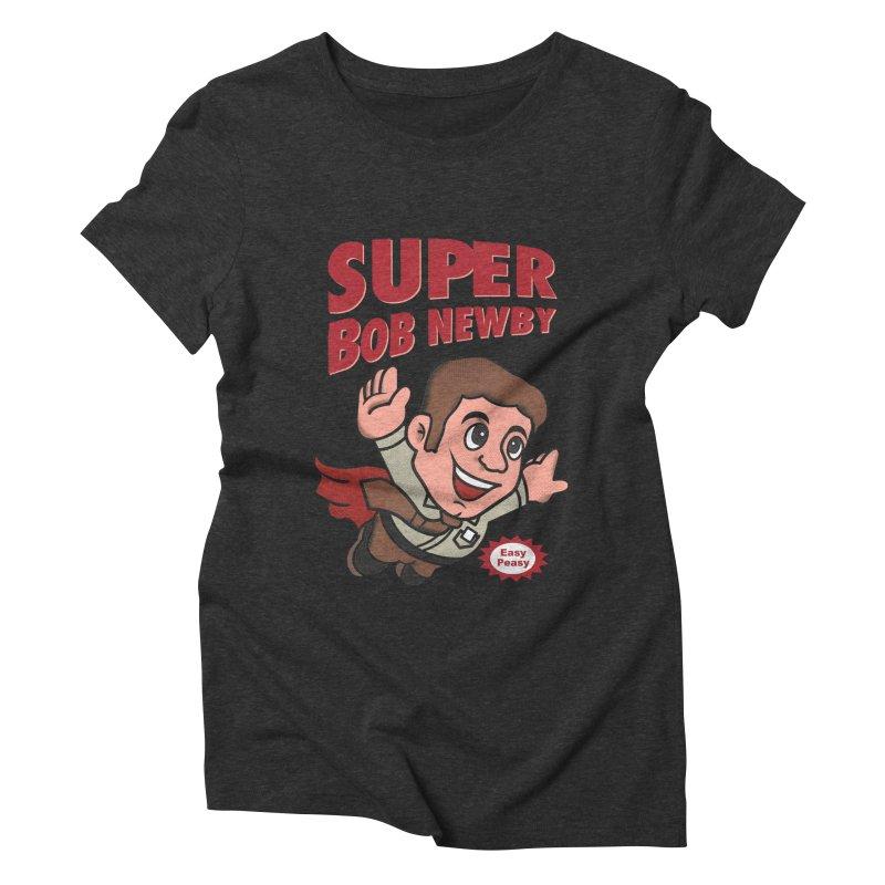 Super Bob Women's Triblend T-Shirt by dandingeroz's Artist Shop