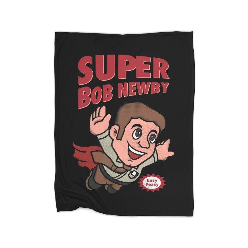 Super Bob Home Blanket by dandingeroz's Artist Shop