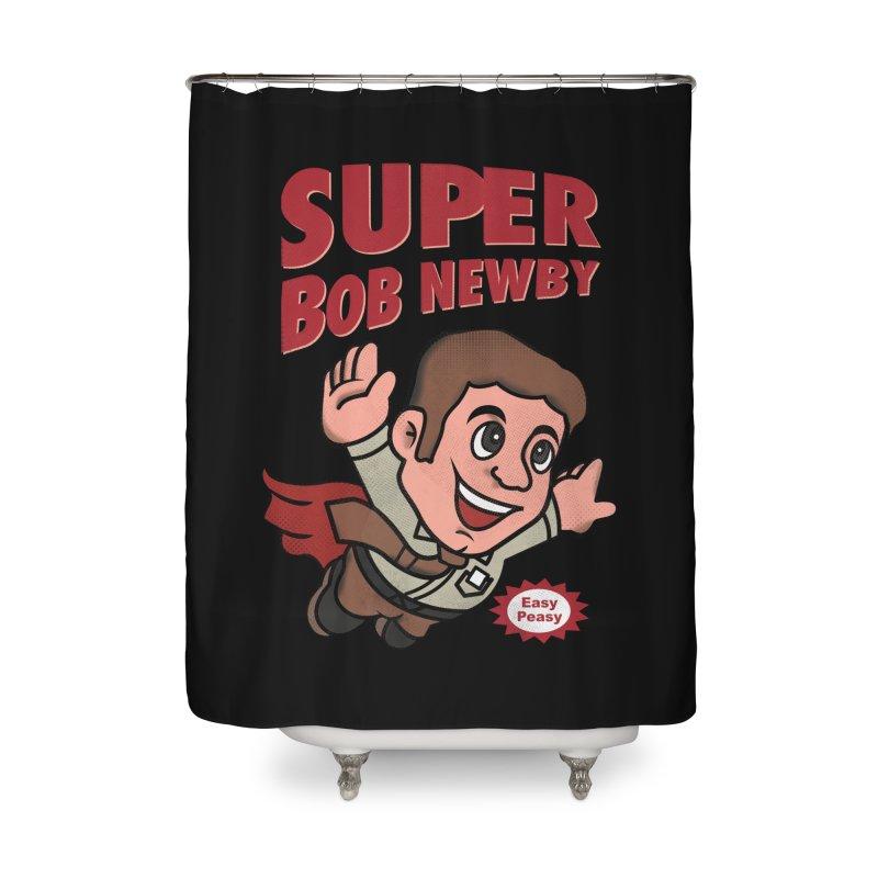 Super Bob Home Shower Curtain by dandingeroz's Artist Shop