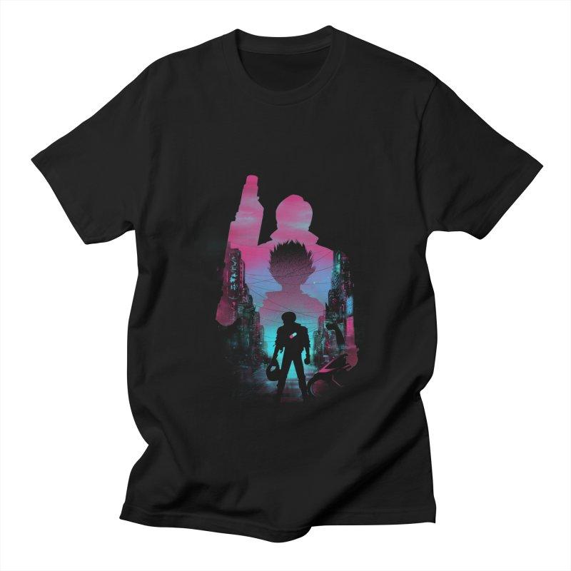 Neo Tokyo Men's T-Shirt by dandingeroz's Artist Shop