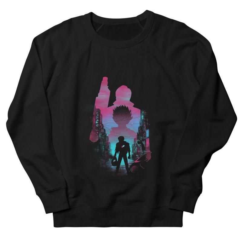 Neo Tokyo Men's Sweatshirt by dandingeroz's Artist Shop