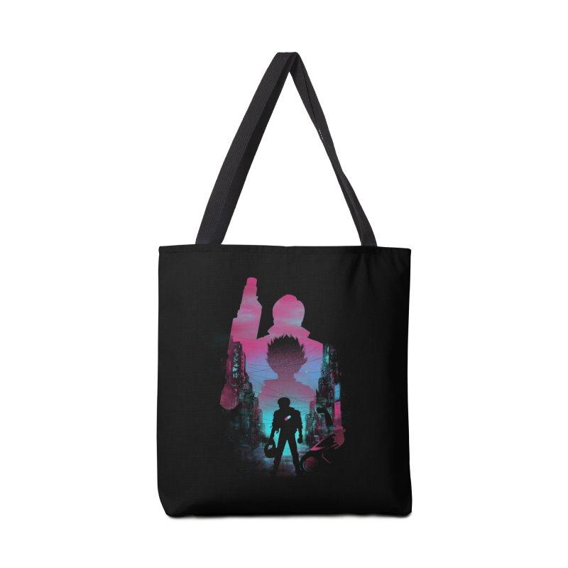 Neo Tokyo Accessories Bag by dandingeroz's Artist Shop