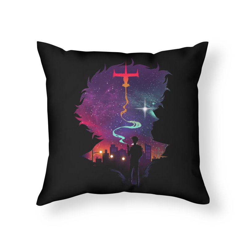 See you in Space Home Throw Pillow by dandingeroz's Artist Shop
