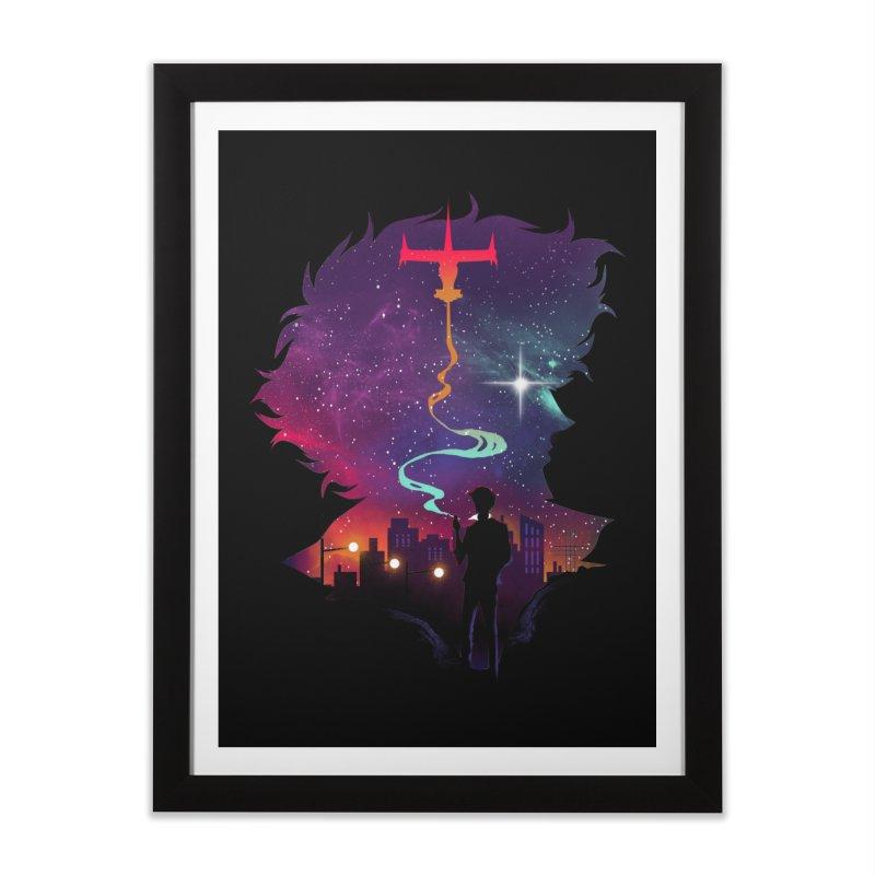See you in Space Home Framed Fine Art Print by dandingeroz's Artist Shop