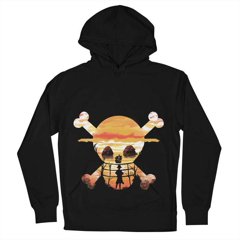 Straw Hat Crew Women's French Terry Pullover Hoody by dandingeroz's Artist Shop