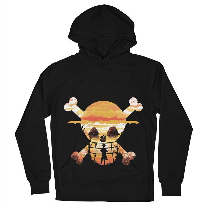 Straw Hat Crew Men's Pullover Hoody by dandingeroz's Artist Shop