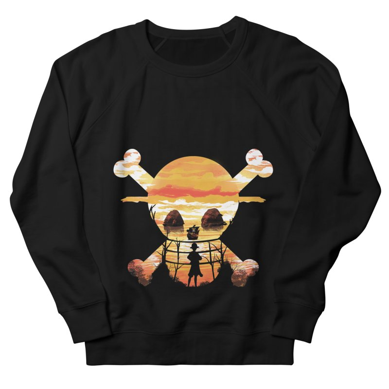 Straw Hat Crew Men's Sweatshirt by dandingeroz's Artist Shop