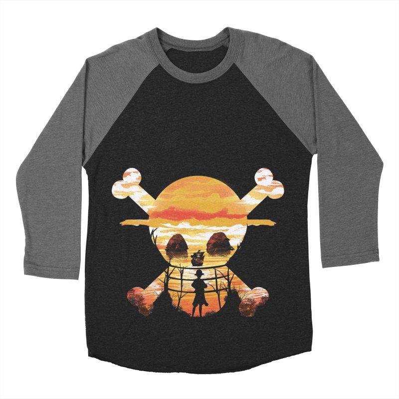 Straw Hat Crew Women's Baseball Triblend Longsleeve T-Shirt by dandingeroz's Artist Shop