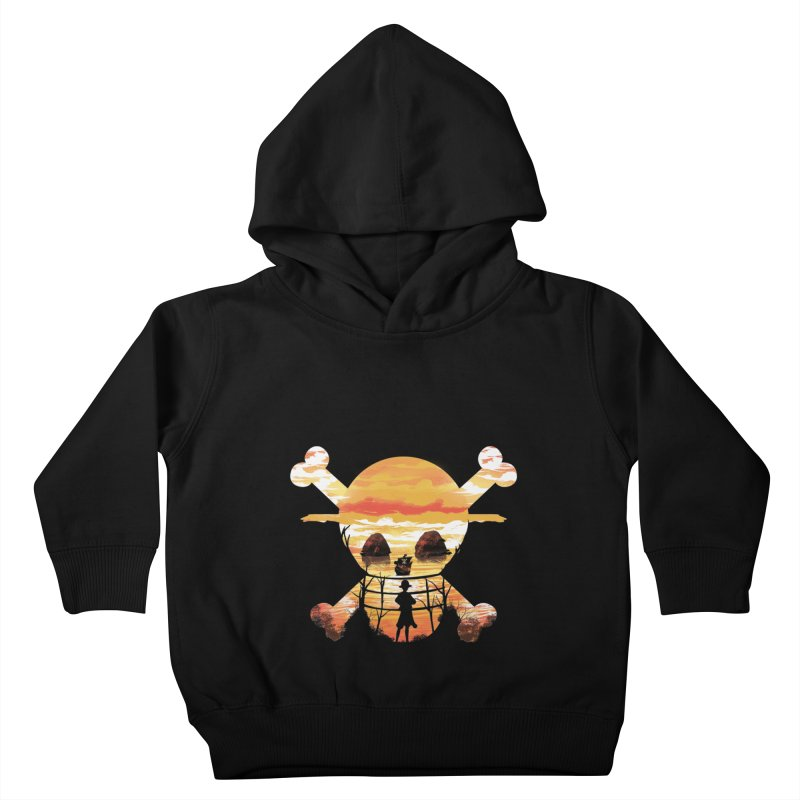 Straw Hat Crew Kids Toddler Pullover Hoody by dandingeroz's Artist Shop
