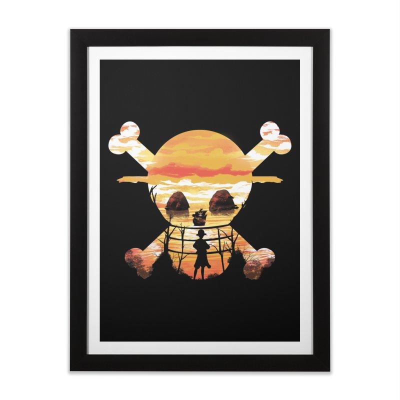 Straw Hat Crew Home Framed Fine Art Print by dandingeroz's Artist Shop