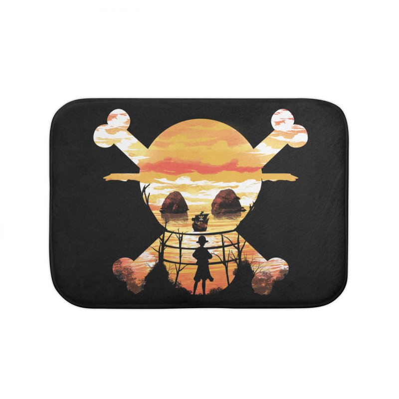 Straw Hat Crew Home Bath Mat by dandingeroz's Artist Shop